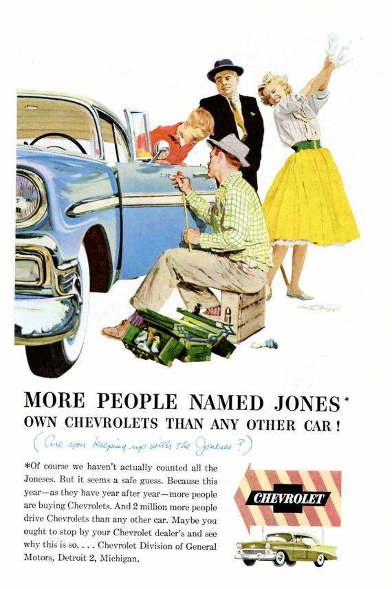 1950s jones