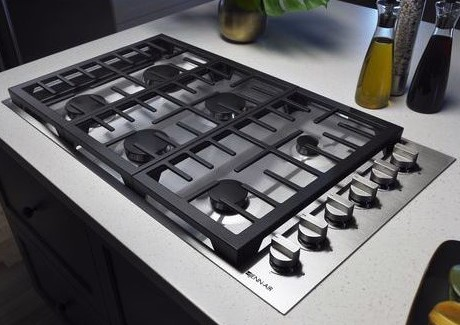 JennAir gas cooktop